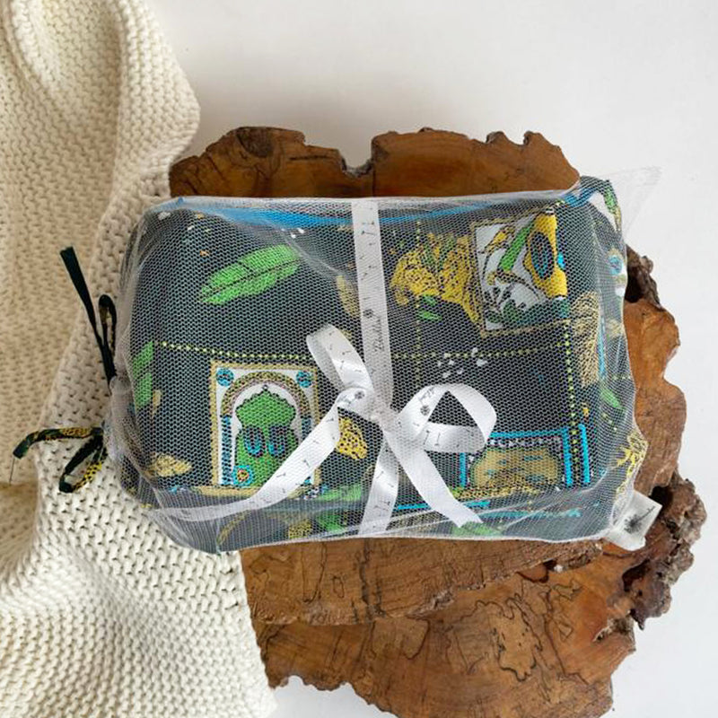A Walk on The Wild Side Travel Pouch - Set Of 2
