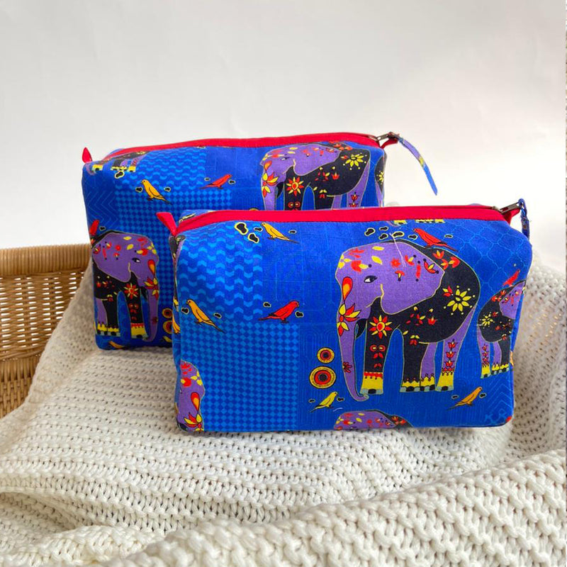 The Elephant Whisperer Travel Pouch
