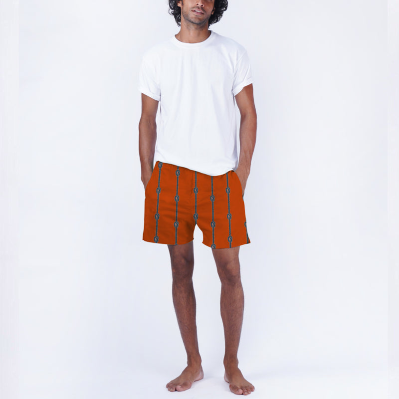 Knotted Ropes Cotton Boxers & T-Shirt