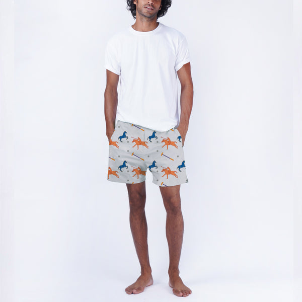 Poloside Cotton Boxers & T-Shirt
