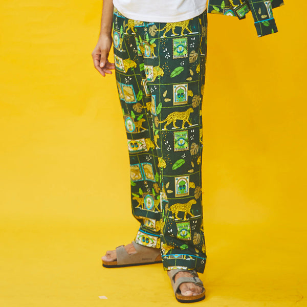 A Walk on The Wild Side Cotton Pyjama