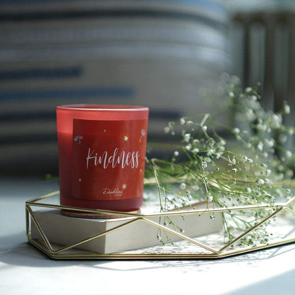 Kindness Dream Candle - Silver Blossom