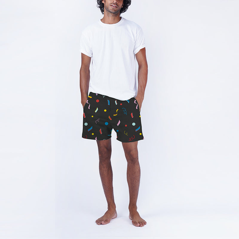 Confetti Cotton Boxers & T-Shirt