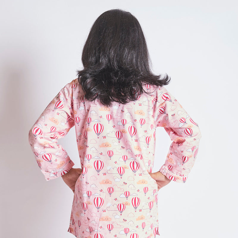 Parachute Cotton Notched Pyjama Set
