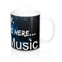 """RELAX, THE SINGER IS HERE"" Presto Music Singer Mug 11oz"