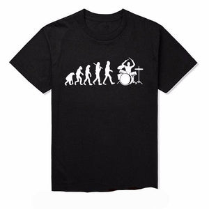 Evolution of Drummer T-shirt Short Sleeve