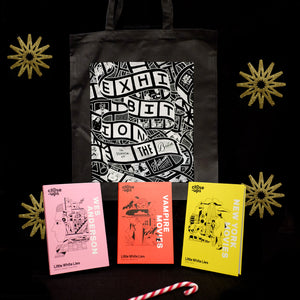 Buy the Close-Ups collection and get a free tote bag
