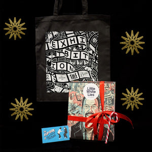 Buy a two-year Little White Lies subscription and get a free tote bag and flipbook