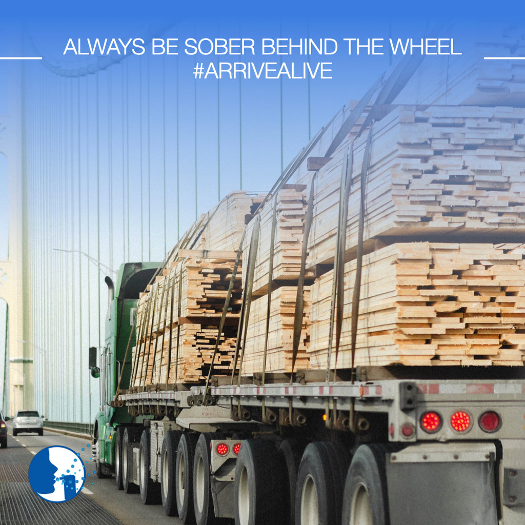 Always be sober behind the wheel!