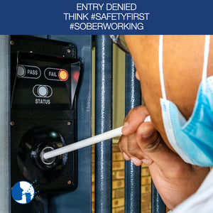 Entry Denied when failing the breathalyser