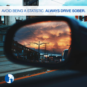 Avoid being a statistic. Always drive sober.