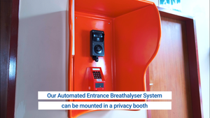 Automated Entrance Breathalyser System - types of installations