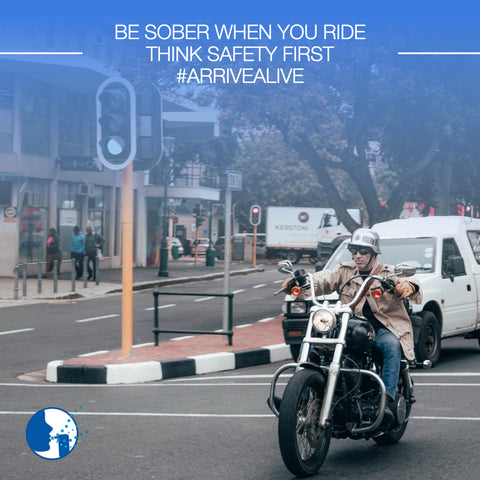 Be Sober when you ride!  Please visit www.breathalysers.co.za to learn about personal, fleet and industry breathalysers.  Think #SafetyFirst #ArriveAlive #SafeRiding