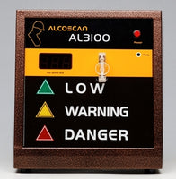 Alcoscan AL3100 Voluntary Breathalyser including printer