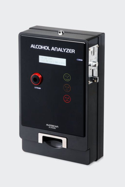 Alcoscan AL4000 Vending Breathalyser for Pubs and Clubs