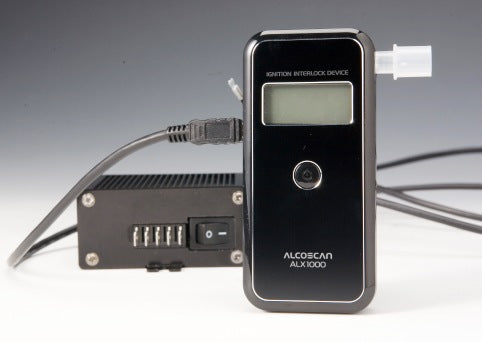 Alcoscan ALX1000 Interlock Breathalyser