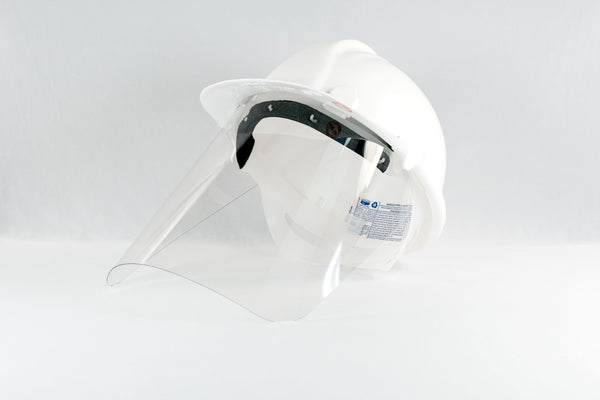 Protective Face Shield for SAFECO Hard Hats