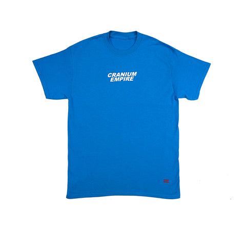 Royal Blue Short Sleeve T-Shirt - Cranium Empire