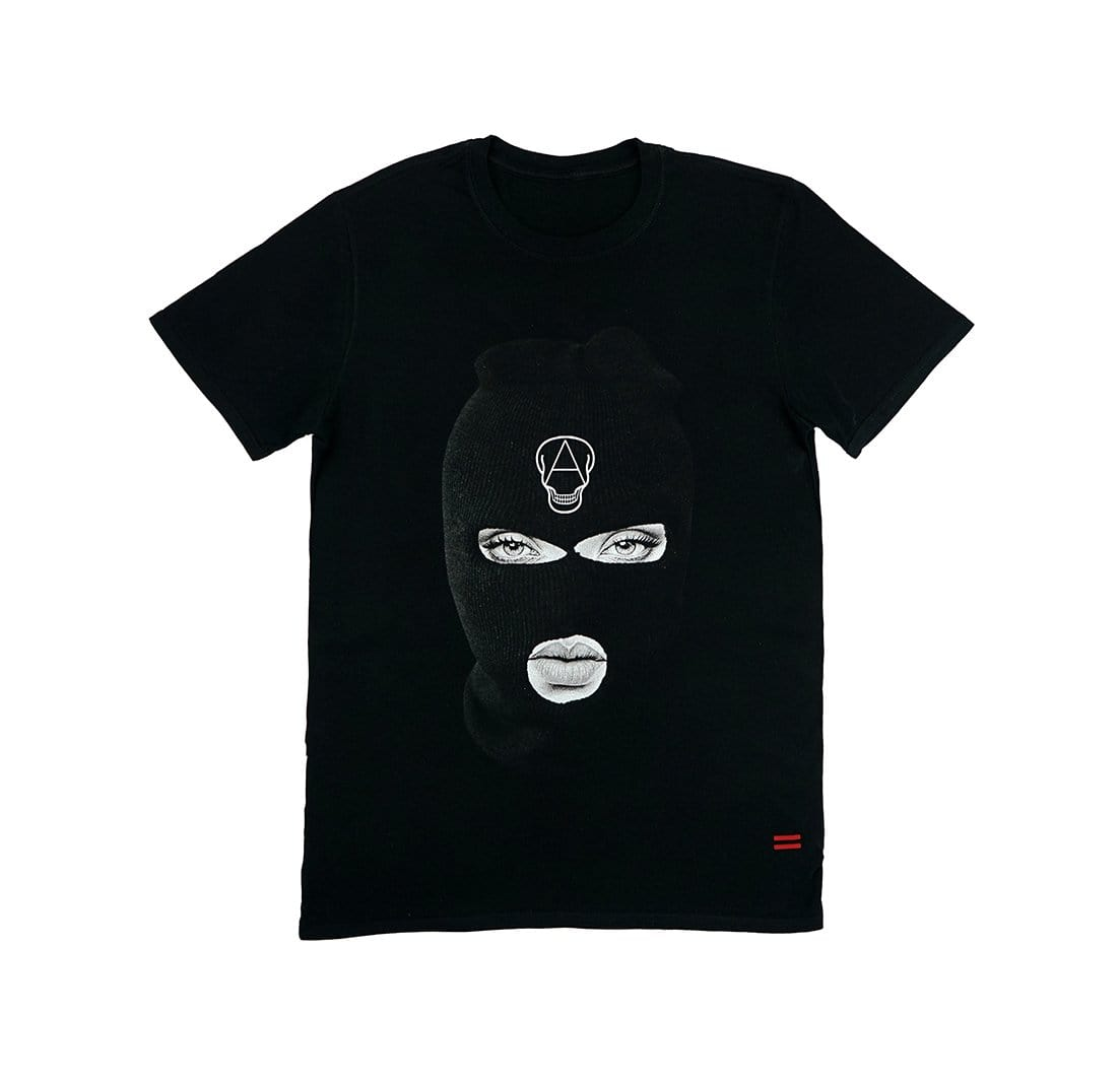 Beautiful Savage Black Mask T-Shirt - Cranium Empire