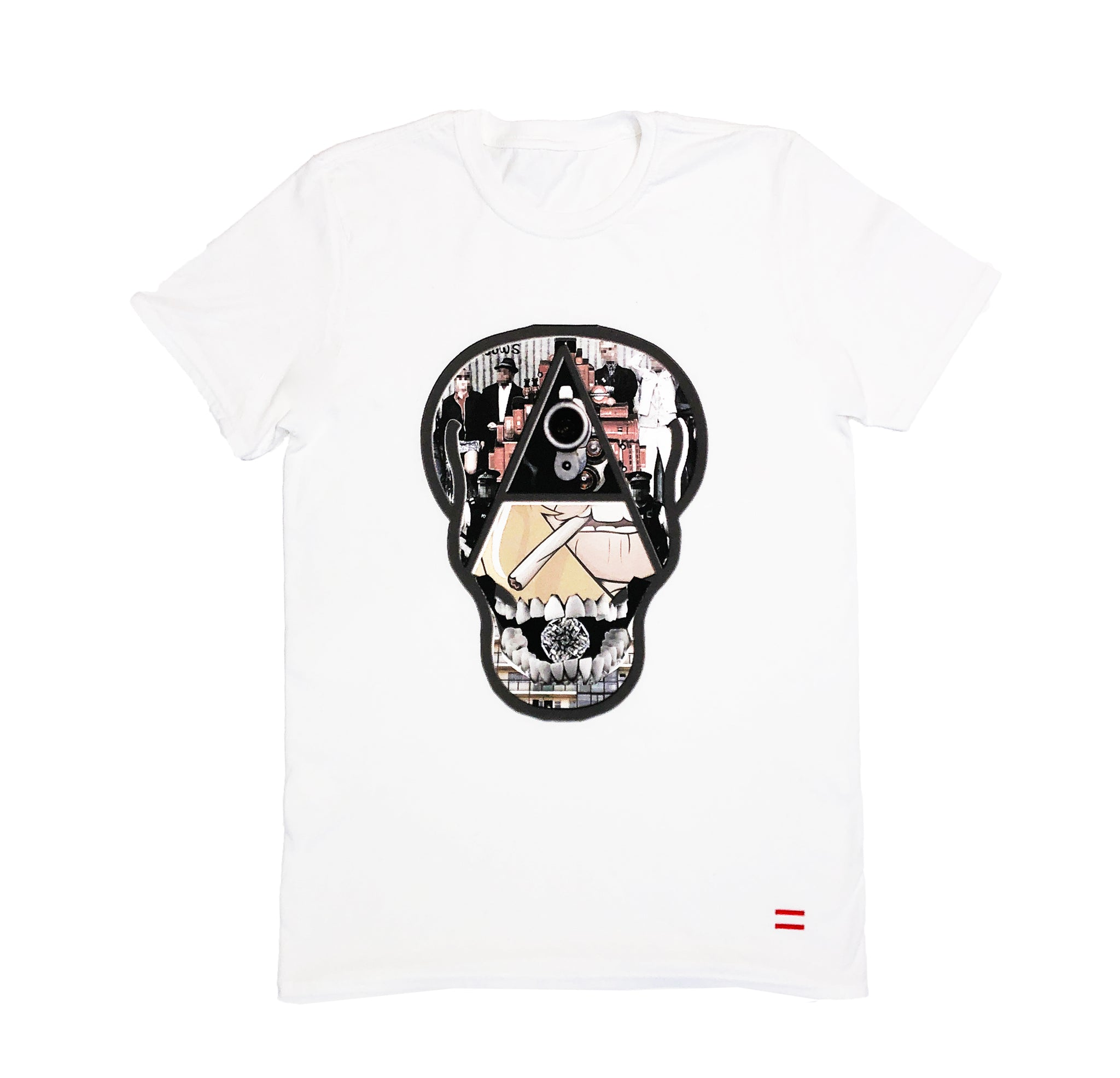 White Mafia Boss T-shirt