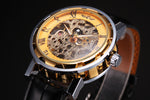TIMES CAPSULE Mecanical Skeleton Watch