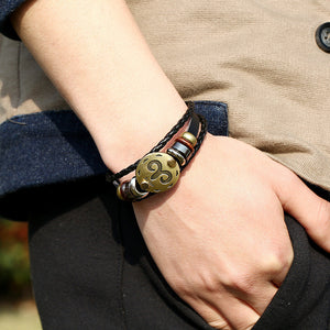FREE Zodiac Leather Bracelet