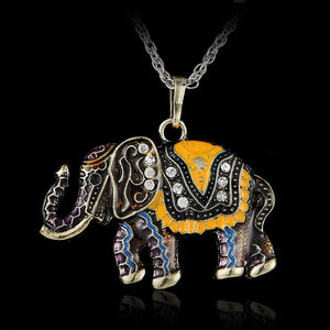 FREE Vintage Elephant Necklace