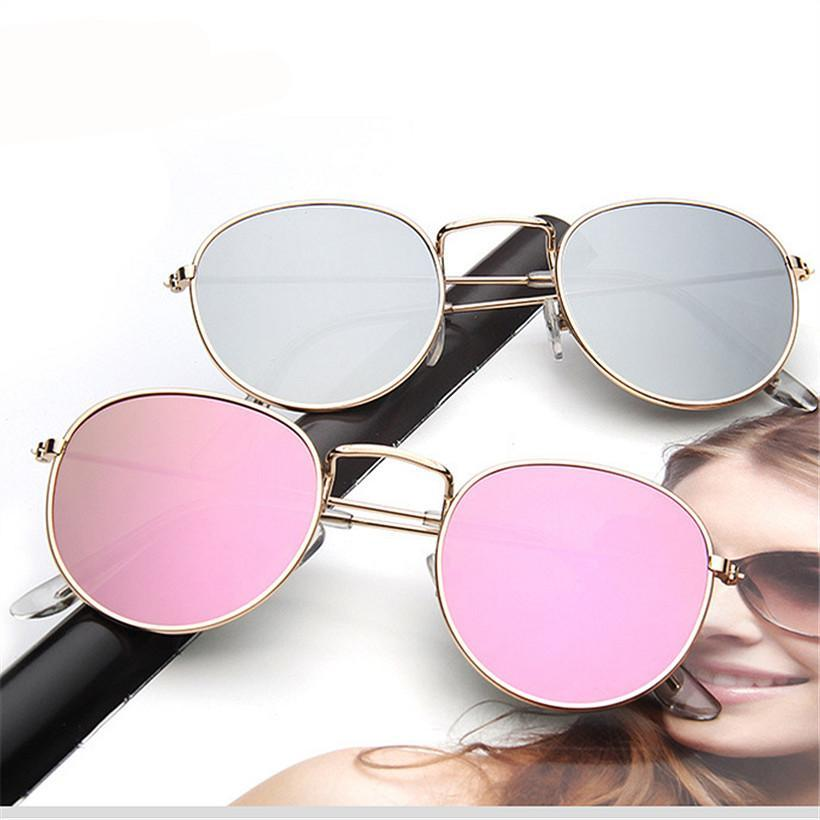 FREE Retro Reflective Women Sunglasses