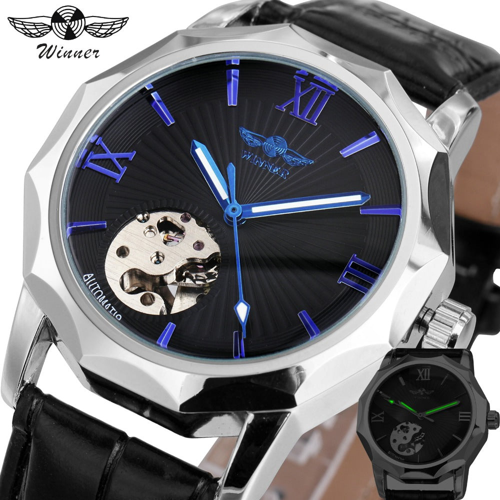 Dodecagon watch