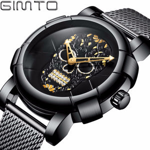NEW SKULL LUXURY WATCH