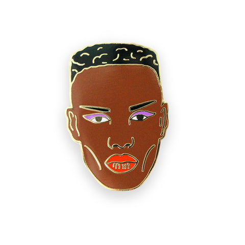 Grace Jones Lapel Pin