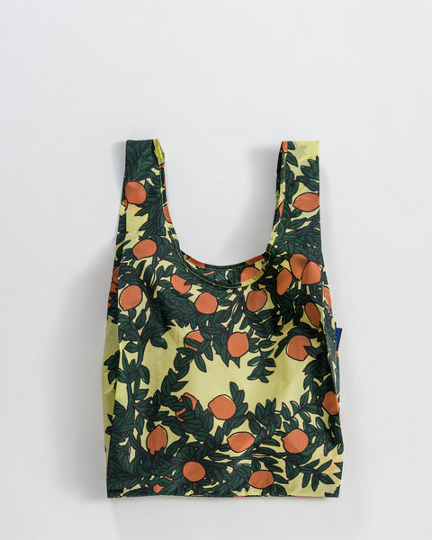 Orange Tree Print – Standard BAGGU Bag