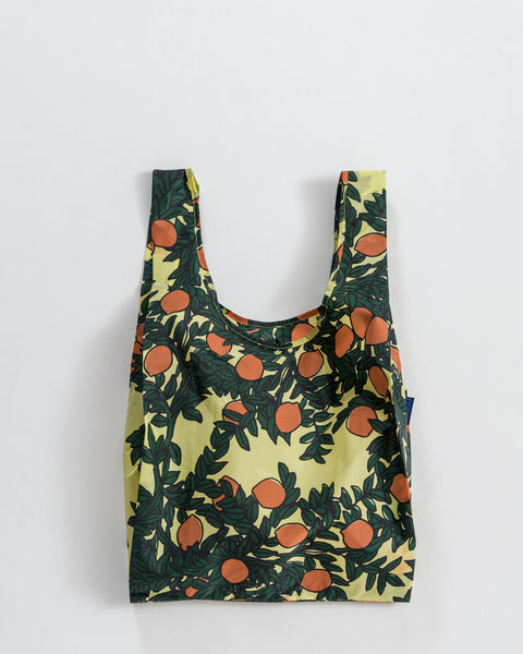 Orange Tree Print Standard Baggu Bag