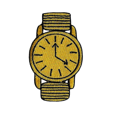 Gold Watch Patch
