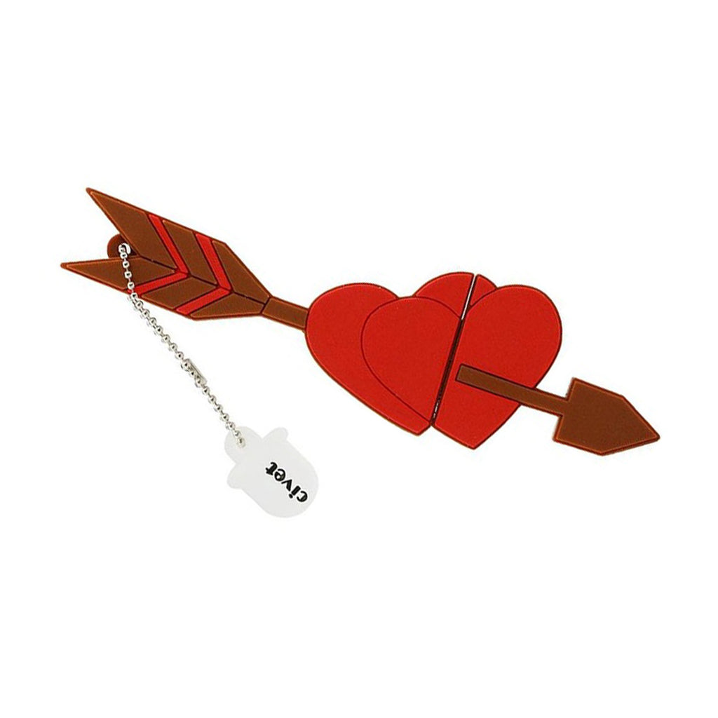 USB Memory Stick – Double Heart