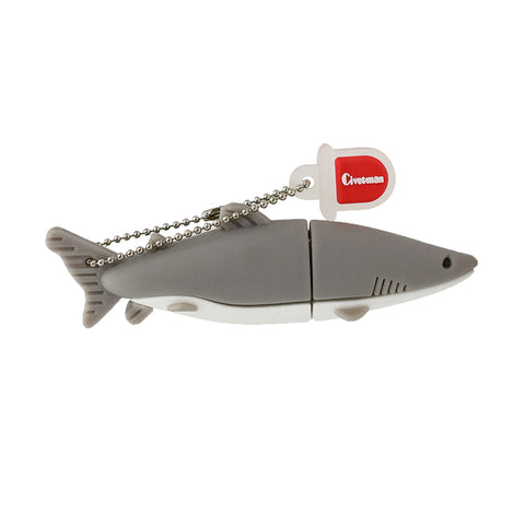 USB Memory Stick – Grey Shark