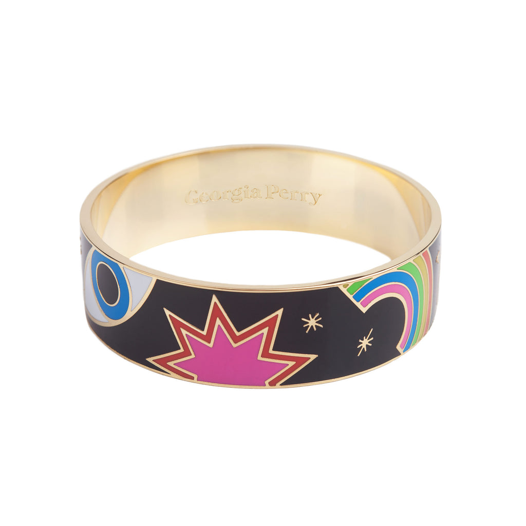 Emoji Enamel Bangle