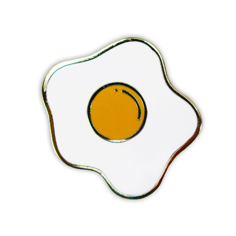 Fried Egg Lapel Pin