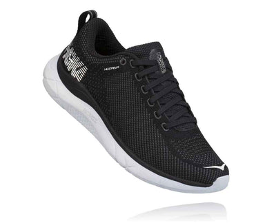 HOKA MENS HUPANA BLACK / DARK SHADOW