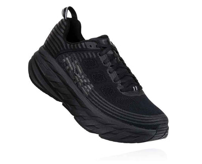 HOKA MENS BONDI 6 BLACK