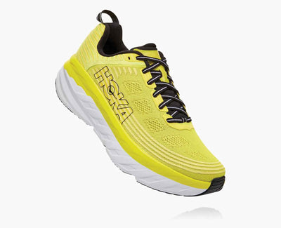 HOKA MENS BONDI 6 CITRUS / ANTHRACITE