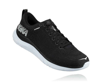 HOKA MENS HUPANA 2 BLACK / WHITE
