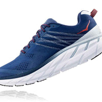HOKA MENS CLIFTON 6 ENSIGN BLUE / PLEIN AIR