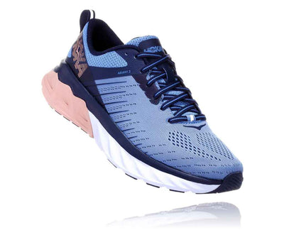 HOKA WOMENS ARAHI 3 ALLURE / MOOD INDIGO