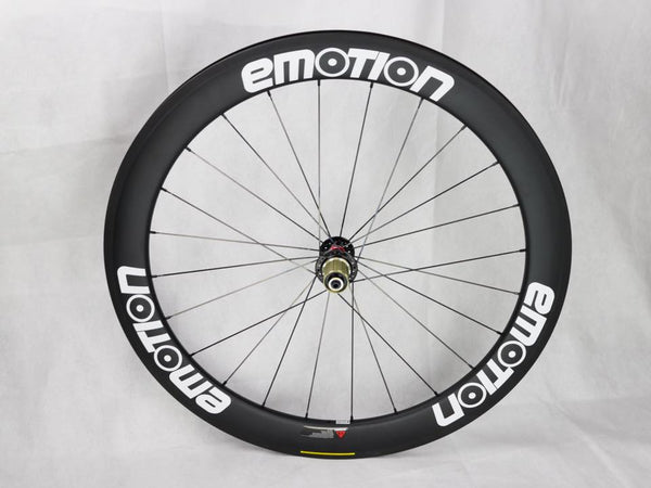 Emotion Carbon Wheels 88mm Front + 88mm Rear