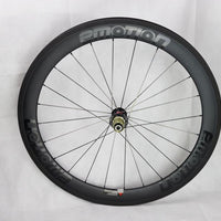 Emotion Carbon Wheels 50mm Front + 60mm Rear