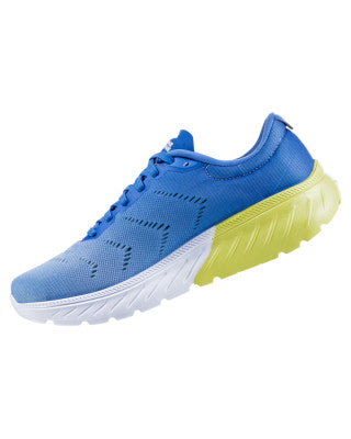 Hoka Women's Mach 2 - Palace Blue/Lime Sherbet