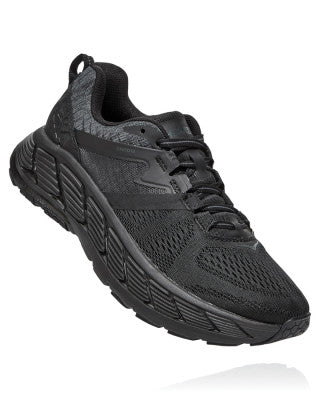 HOKA WOMENS GAVIOTA 2 BLACK / DARK SHADOW