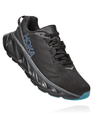 HOKA WOMENS ELEVON 2 BLACK / DARK SHADOW