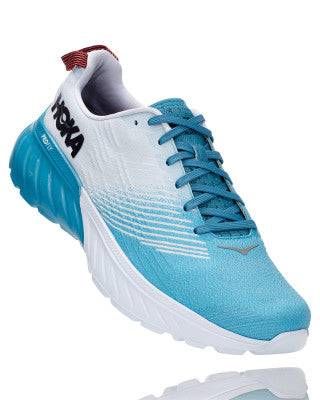 HOKA MENS MACH 3 BLUE MOON / WHITE